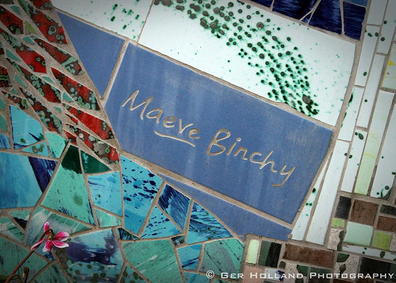Memorial to Maeve Binchy